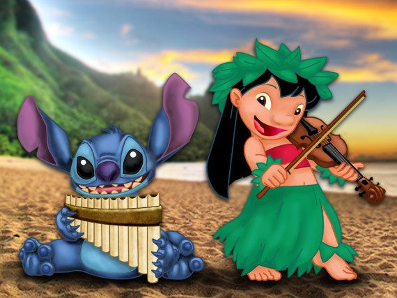 Lilo_and_Stitch_Musical_Duet_by_the_panpiper